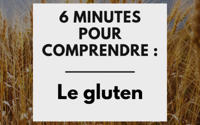 6 minutes pour comprendre le gluten et y remédier !