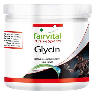 Glycine complément alimentaire pour sportifs