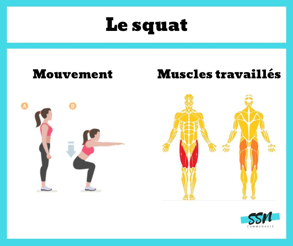 comment faire un squat musculation