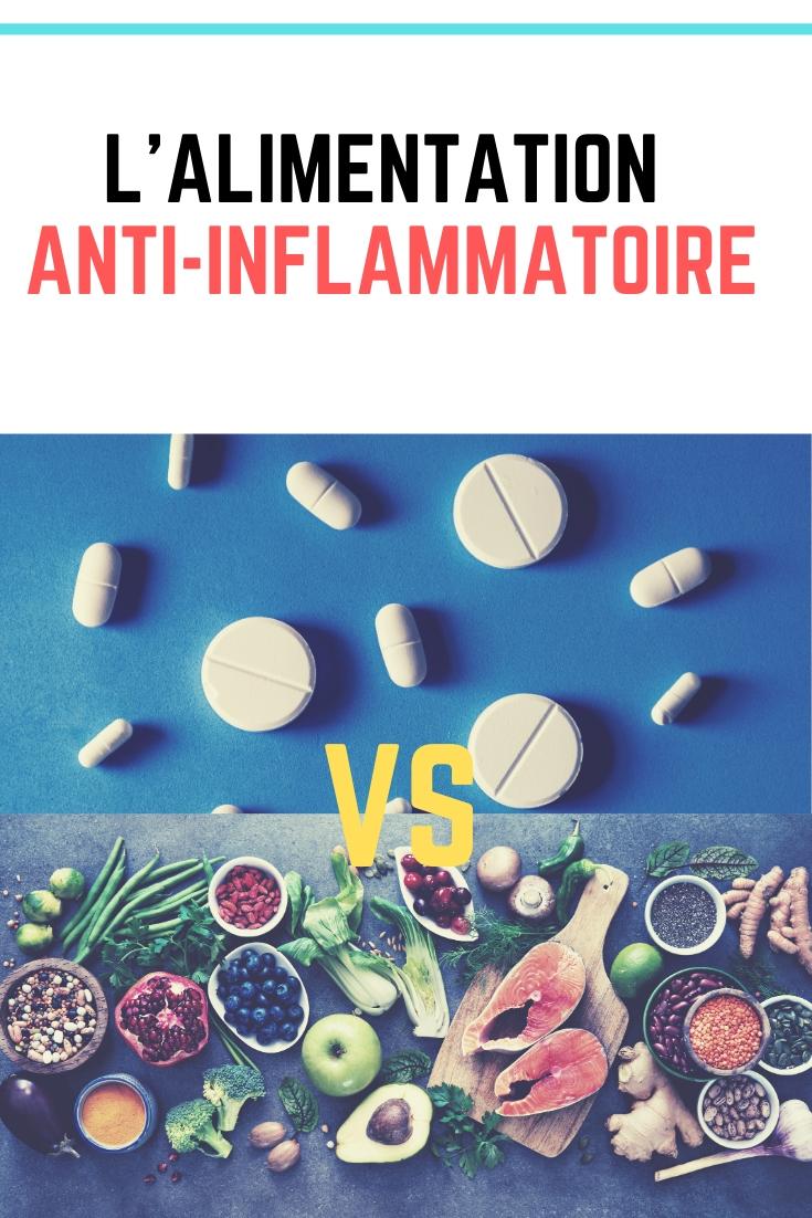 l'alimentation anti-inflammatoire